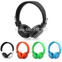 Free Shipping Stereo Headset Wireless Headphone DJ TF Card/FM/MP3 Play Noise Cancelling 3.5mm Headband Headphones