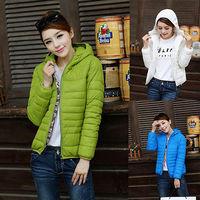 2014 New Arrival Women Winter Warm Slim Short Hooded Outwear Parkas Coat Jacket Top L-XXXL Plus Size 6 Colors Free Shipping