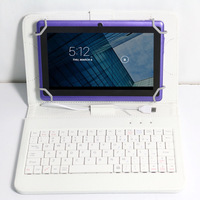 """Samsung 7"""" Tablet PC Google Tablet PC Android 4.2 WIFI A23 Dual Core Camera Purple 4GB W/Keyboard"""