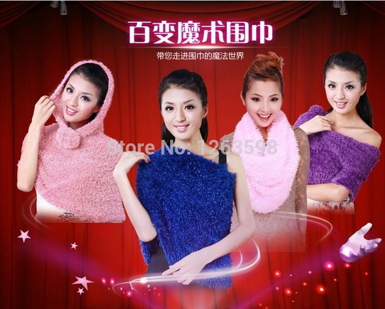 Autumn and Winter Scarf pashmina shawl.wrap ring beabhand(China (Mainland))