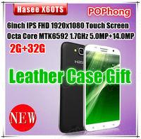 Original Hasee X60TS 6 Inch 1920x1080 pixels MTK6592 Octa Core 2GB RAM 32GB ROM Front 5.0MP Rear 14.0MP Camera