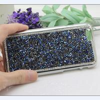 Luxury Rhinestone Bling Shinning  Diamond Chrome Hard Case Cover for iPhone 6 50pcs/lot DHL Free Shipping