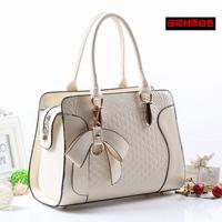 Fashion fashion big bag 2014 spring and summer bow messenger bag handbag women's