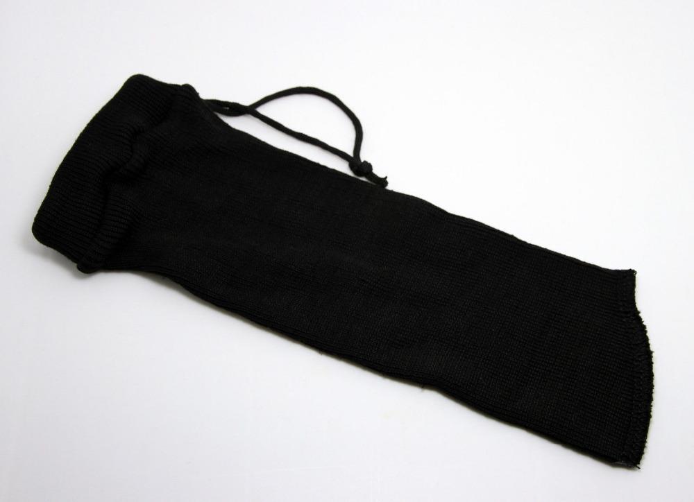 "New 12""(L)*3.54""(W) Gun Sock For Pistol Revolver Handgun Gun Case Sock Silicone BLACK~~(China (Mainland))"