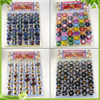 48pcs/lot Frozen Badge with Safety Pin Kids Clothing Bags Decoration Badge Minion Skull Brooches Animal Brooch Pin Party Gift