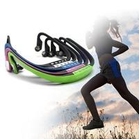 2014 New Sport Wireless Headset Headphone Earphone Music MP3 Player Micro TF FM Radio Free Shipping