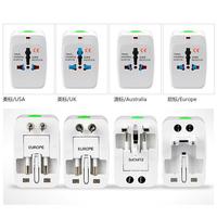 10pcs Universal Adapter Plug Socket Comverter Universal All in 1 Travel Electrical Power Adapter Plug US UK AU EU Free Shipping