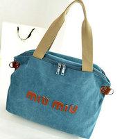 Brand Fashion Women's Messenger Bags Vintage Canvas lady handbag shopping tote bags Casual Multi-function Shoulder Bag