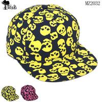 caps New Arrival  (5PC/LOT) Wholesale Printed skulls Hip-hop kids hats Premium cotton comfortable children baseball caps MZ2032