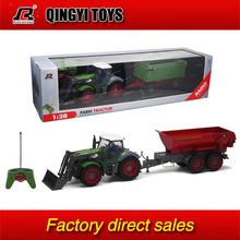 1:28 Multifunctional RC trailer tractor truck(China (Mainland))