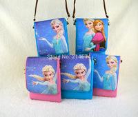 Fashion New Cartoon Cute Bag Mini Frozen Phone Bag Girl Money Bag Coin Purse Children Christmas Gift Frozen Party Supplies
