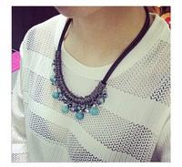 (mini order 10usd )2014 New Factory wholesales Korean fashion  Chocker necklace accessories