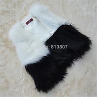 2014 new style Long Raccoon Dog Fur Vest