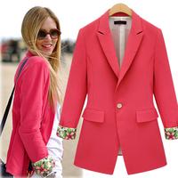 D11 New Fashion Women Autumn plus size Cotton Blends stylish comfortable Cloth jacket coat Slim Small Suit outwear Shirt  jacket
