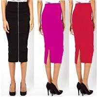 Wholesale New Fashion Party Evening Skirt Summer Women Skirt Size S M L XL XXL