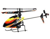 F070103 -WLtoys V911 2.4GHz Remote Control Single Blade 4-Channel Micro Helicopter + 4 x 200mAh Battery + Multi-port Charging Ca