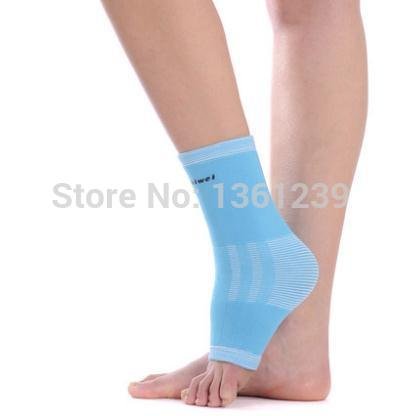 Kaiwei 0879  2 pack ankle pad ankle sheath motion warm way elastic badminton basketball ankle  free shipping (China (Mainland))