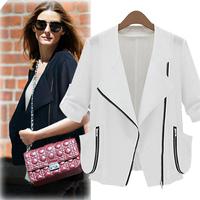 D12 New Fashion Women Autumn plus size S-XL stylish comfortable Cloth jacket coat Blazers Slim Small Suit outwear Shirt  jacket