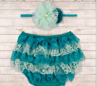 2014 baby short satin baby diaper cover bloomers Frozen Infant Ruffled diaper cover with Hair Band