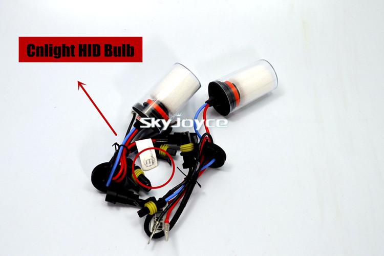 35W H1 H3 H7 HID xenon bulb hongkong post free shipping cnlight xenon bulb replacement high quality(China (Mainland))
