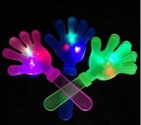 hot selling novelty Flash clap Luminous hand on concert props Wedding glo-sticks light-emitting toys