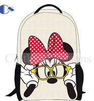 Hand Painting Cartoon Student Backpack Kids Children School Backpacks Mochila Infantil School Bag For Girls School Bags