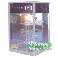 Pizza warmer /Transparent glass food warmer