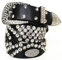 Discounted wholesale leather belt Ms. Diamond Belts A Cat's Eye Design Queen temperament belt 14