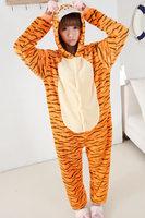 TIGER and the tigger fleece pajamas unisex onesie pajamas ropmer sleep suit all in one animal onesies jumpsuit pajamas