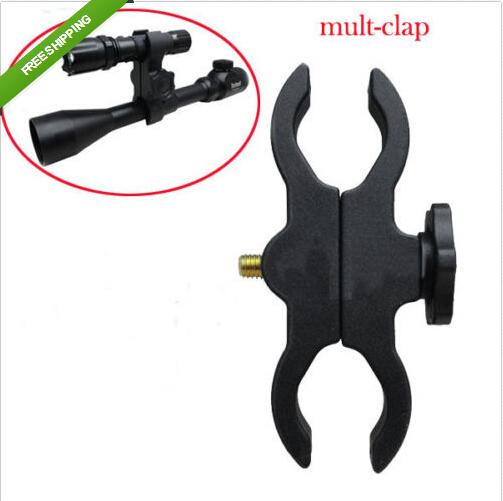 Mult Mount Clamp/Clip For Flashlight Torch Telescope Sight Laser Bike Scope(China (Mainland))