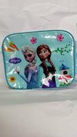 Frozen Lunch Bags Shiny Princess Elsa & Anna Blue PINK color Frozen School Bags Lunch