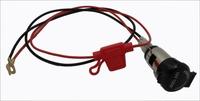New 12V Power Outlet Supply Cigarette Lighter Socket for Motorcycle Boat Car freeshipping
