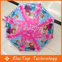 Free Shipping Frozen Umbrella Frozen Princess Elsa & Anna Children Umbrella 68cm Frozen Series