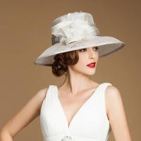 ihat unique women's nobility cap big fedoras dinner party hat fashion fascinator