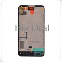 100% Guarantee Test Before Touch Screen Digitizer + LCD Display Digitizer Assembly With Frame For Nokia Lumia 630 N630
