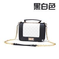 2014 Vintage British Satchel leboy Crossbody Messenger Bags Men and Women PU Leather chain Shoulder Tote Handbag