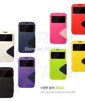 Roar Korea Fancy Diary View Window Wallet Leather Case for LG Optimus G2 LG GprO Lite D686