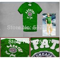 abercr for ombie brand polo men 2014 t shirt men Ameri Famous  polo shirt new camisetas masculinas cotton t-shirt men o-neck