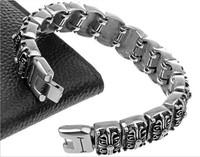 Fashion personality titanium bracelet stylish stainless steel Metrosexual BRACELETS WHOLESALE