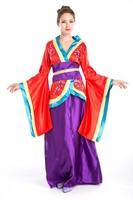 2014 BS -02Japanese geisha kimono cherry EGL Cosplay clothes studio photo shoot clothing exports Halloween