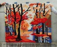 Handmade tapestry phanerophyta immersa wall hanging gift 120*240cm/80*140cm/100*120cm/80*160cm/100*200cm