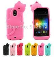 for Samsung Galaxy Nexus i9250 case Dre Diffie Cat soft rubber phone cover skin for Samsung Galaxy Nexus i9250 case