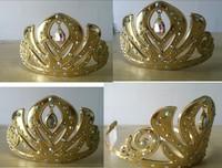 2014 new Frozen Crown Fashion Tiaras Frozen Elsa Girl Princess Party Hair Accessories Glitter Queen Crowns wholesale