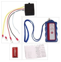 Free Shipping 12V Winch Wireless Remote Control Set Kit for Truck  ATV Warn Ramsey