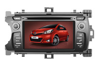Android Navigation Car DVD / Radio / Video Support 3G Wi-Fi GPS Steering Wheel Controls for TOYOTA YARIS 2011-