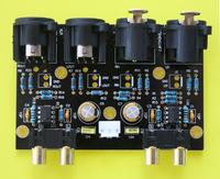 Balanced Unbalanced (RCA) to unbalanced (RCA) balanced converter stereo preamplifier preamp board