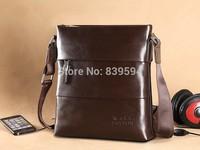 Business casual leather men messenger bag shoulder bag Korean men bags