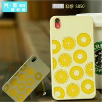 Free shopping for lenovo s850 mobile phone case for lenovo s850t protective case cell phone case silica gel set