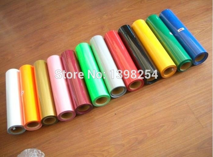 Free shipping Wholesale Thermo Vinyl and Vinyl Film Rolls For Clothing(China (Mainland))