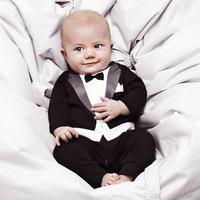 Newborn baby boy clothes,baby clothing,gentleman style overalls,bebe,long sleeve jumpsuit,cotton,roupas de bebe,baby romper
